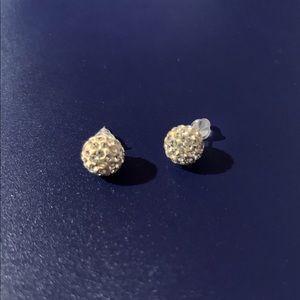 Touchstone Ball Earrings